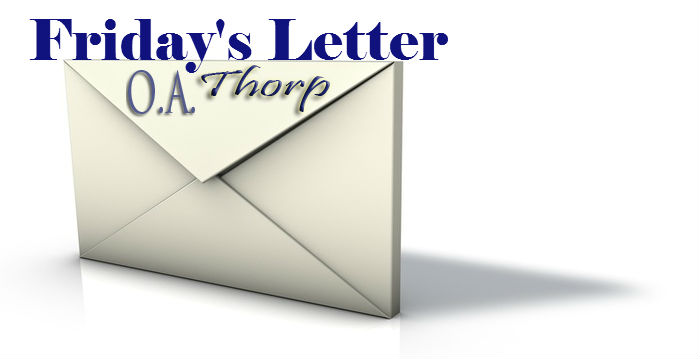 The Latest Friday Letter