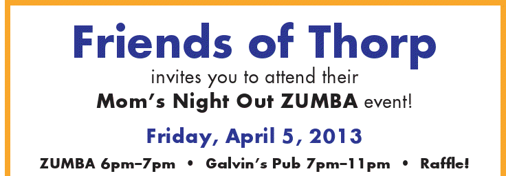 Mom's Night Out ZUMBA Event!