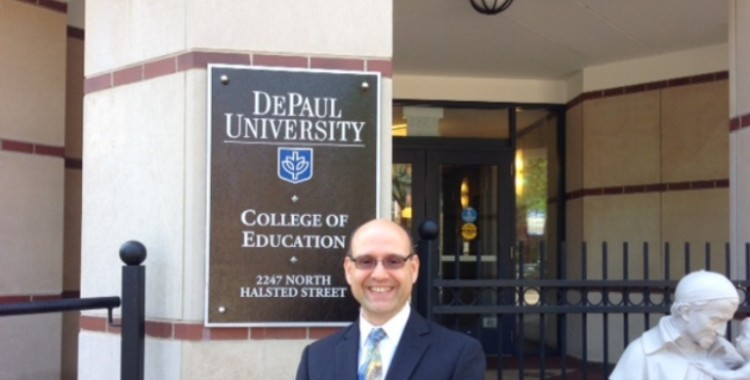 DePaul Honors Dr. Chipain