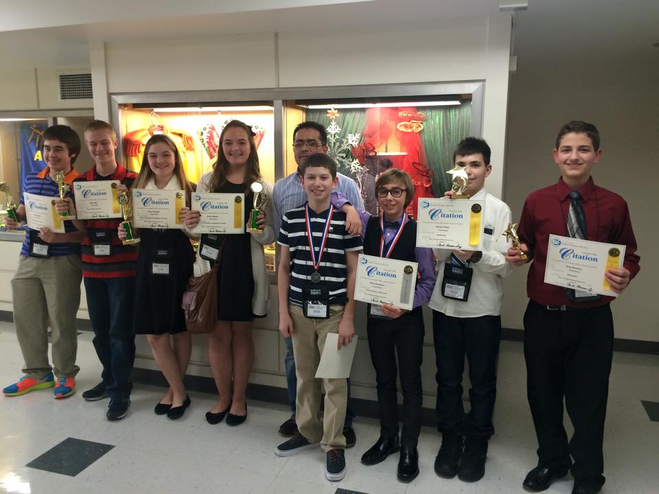 Thorp Students At City Science Fair Championship!