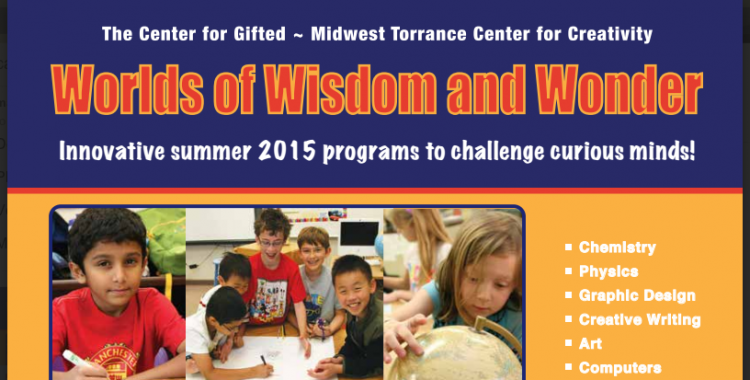 Center for Gifted Summer Camp
