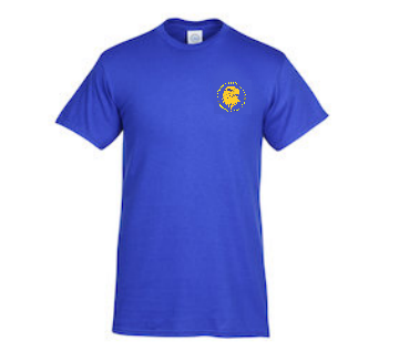Gym T-Shirt (Blue)