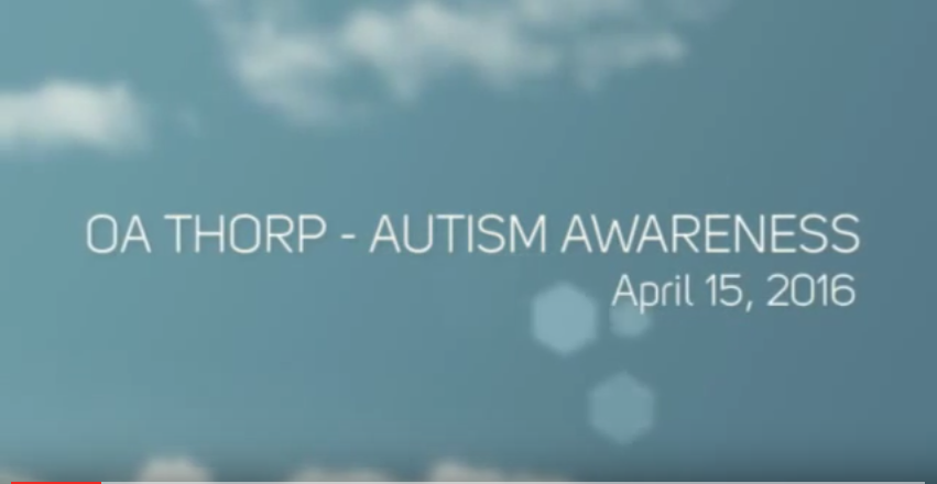 Autism Awareness – 2016