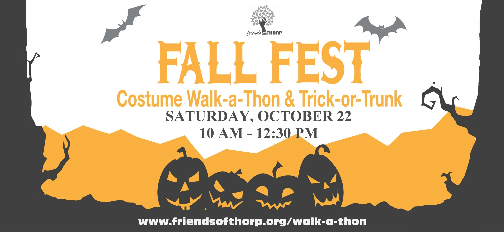 Friends Of Thorp Fall Fest And Walk-a-thon