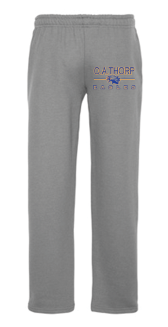 Open Bottom Jogging Pant